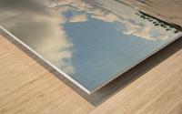 Eleuthera Deserted Beach Wood print