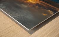 Eleuthera Sunrise splashdown Wood print