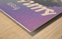 Dear Nightowls... Wood print