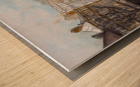 Buildings_High_Res Impression sur bois