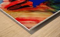 Hour glass Wood print