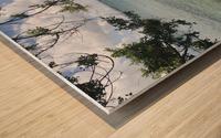 A Street Side in Puerto Rico Series: 3 Wood print