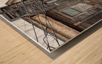 Corner Coloniale and Napoleon - 2018 Wood print