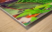 Plant Dreads Wood print