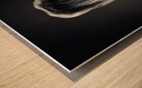Nude Bodyscape reflections 9 Wood print