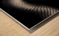 Legs in Fishnet Stockings 2 Wood print