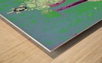 RÚ--in Green Wood print