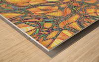 Sindbad the Sailor Wood print
