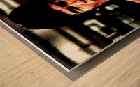 bruce lee1a Wood print