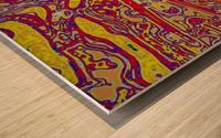 THE BUSINESSMANS DARK HELL Wood print