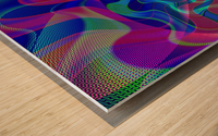 Digital_Tornado_Take_1 Wood print