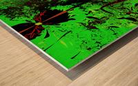 Digital_Tornado_Take_4 Wood print
