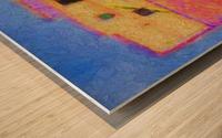 Adobe House New Mexico Wood print