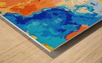 Marble XXXIV Wood print