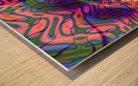 Acid_Jungle_Trip_9 Wood print