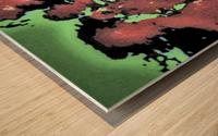 et in arcadia ego 109 Wood print