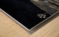 Moon Base 2 Wood print