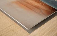 Geyser on Europa Wood print