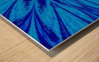 A Blue Wildflower 4 Wood print