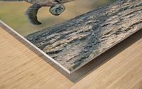 Mouflon in the Forest Portrait Wood print