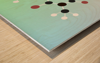 Koffein modern soft Wood print