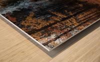 Tapis de feuille Impression sur bois
