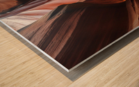 Upper Antelope Canyon 2 Wood print