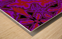 Purple Wind Flower 3 Wood print