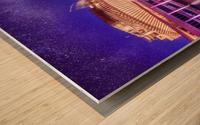 Casino Milky Way Wood print