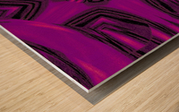 Purple Desert Song 37 Wood print