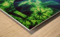 Neurospiral Wood print
