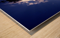 blue 2 Wood print