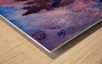 Memories of Lupine Roses and Allium Wood print