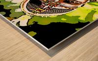 African Wood print