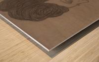 Searching Wood print