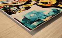 FraGmenTs C Wood print
