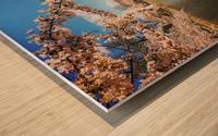 Cherry Blossom Branch Wood print
