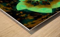 Digital_Vegetation Wood print