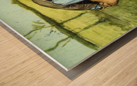 Cutting Grass by Van Gogh Wood print