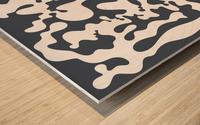 Shapes Wood print