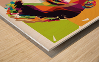 Roberto firmino Wood print