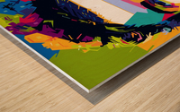 Curtis jones Wood print