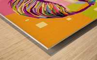 Erling haaland Wood print