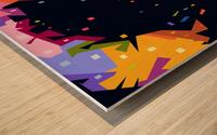 jimi hendrix Wood print