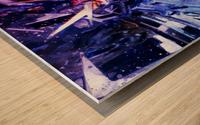 Gundam Wood print