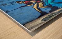 Dynamic Duo Wood print