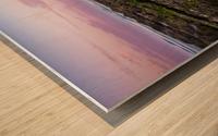 Colorful Sunrise Wood print