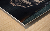New Royal Crown Wood print