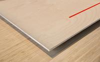 Shapes 04 - Abstract Geometric Art Print Wood print