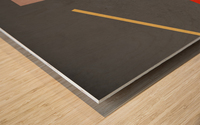 Shapes 03 - Abstract Geometric Art Print Wood print